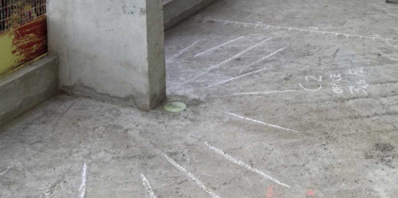 Concrete scanning - in-situ mark-up