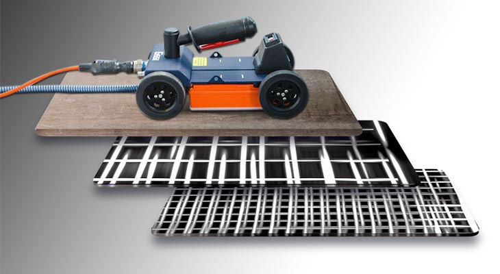 Ground Penetrating radar used for rebar mapping
