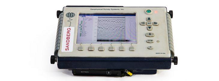 GSSI Sir 3000 control unit